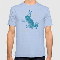F Poster 06 Mens Fitted Tee Tri-Blue SMALL
