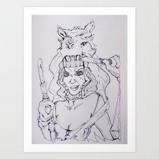 A Bloody Good Time Art Print