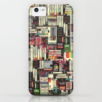 iPhone 5c Cases featuring music  by mark ashkenazi