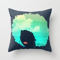 Afro Throw Pillow