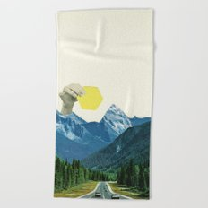 Moving Mountains Beach Towel