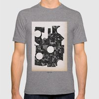 - Abstinence - Mens Fitted Tee Tri-Grey SMALL