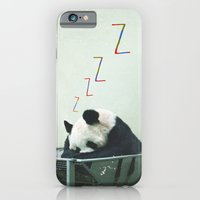 Sleepy Panda iPhone 6 Slim Case