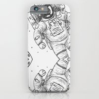 astro Traveller Retro iPhone 6 Slim Case