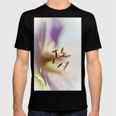 Lilac Blues Black SMALL Mens Fitted Tee