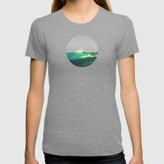 House by the Sea Womens Fitted Tee Tri-Grey SMALL