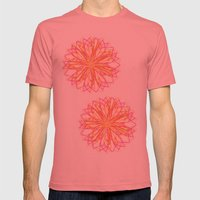 ALOBHA Mens Fitted Tee Pomegranate SMALL