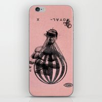 Nobody In The Air iPhone & iPod Skin