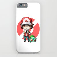 Pokemon Trainer RED iPhone 6 Slim Case