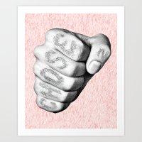 Chosen Fist Art Print