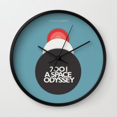 2001 a Space Odyssey - Stanley Kubrick Movie Poster Wall Clock