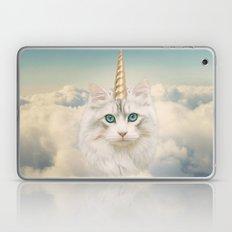 Unicorn Cat Sky Laptop & iPad Skin
