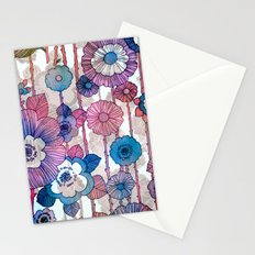 Hanging Flower Garland Stationery Cards