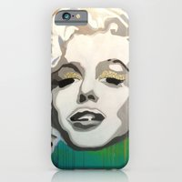 iPhone & iPod Case featuring Marilyn Blonde Bombshell by Paola Gonzalez