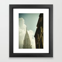 The City Of The Fighting… Framed Art Print