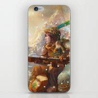Dragoon legend  iPhone & iPod Skin