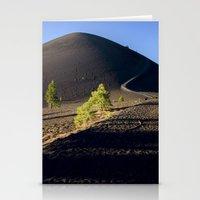 Lassen Volcanic National Park - Cinder Cone Volcano Stationery Cards