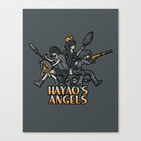 HAYAO'S ANGELS Canvas Print