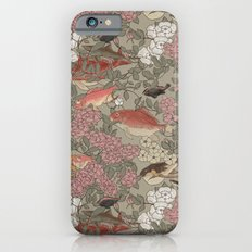 Fishes & Flowers - Seamless pattern iPhone 6 Slim Case