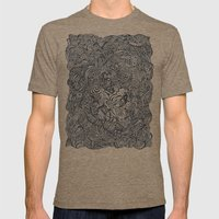 Daydream Aftermath Mens Fitted Tee Tri-Coffee SMALL