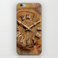 Tempus fugit ! iPhone & iPod Skin