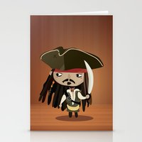 Captain Sparrow Stationery Cards