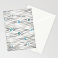 modern lights Stationery Cards