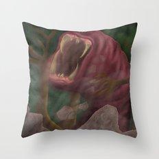 Rage! Throw Pillow