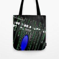 Blue Pill Tote Bag