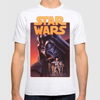 Star Wars Mens Fitted Tee Ash Grey SMALL