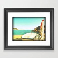 Skyline from you Framed Art Print