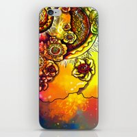 FLOWER II iPhone & iPod Skin