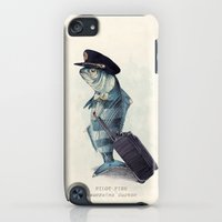 iPod Touch Cases featuring The Pilot by Eric Fan