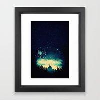 Stellanti Nocte Framed Art Print
