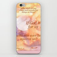 If God Is For Us iPhone & iPod Skin