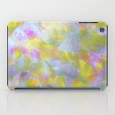 Abstract in Shimmery Pastel Colors iPad Case