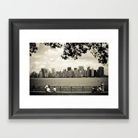 A View Of NYC Framed Art Print