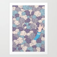 Spock's Trouble With Tri… Art Print