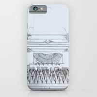 Typed Out iPhone 6 Slim Case
