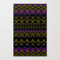 Sweater Pattern Canvas Print