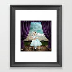 The Audition Framed Art Print