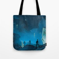 The Ethereal Underground Tote Bag