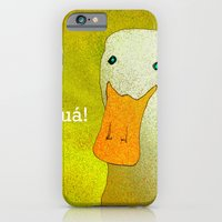 White Duck! iPhone 6 Slim Case