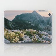 Mountain Flowers At Sunr… iPad Case