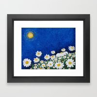 We are Daisies Framed Art Print