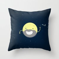 MOONVEMBER Throw Pillow