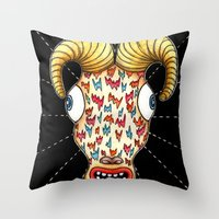 ¨Hunky¨ Throw Pillow