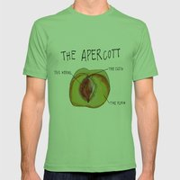 THE APERCOTT Mens Fitted Tee Grass SMALL