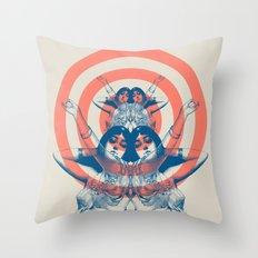Space Ritual Throw Pillow