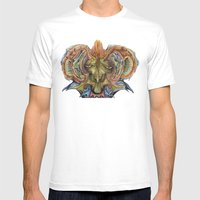 1001 Years Mens Fitted Tee White SMALL